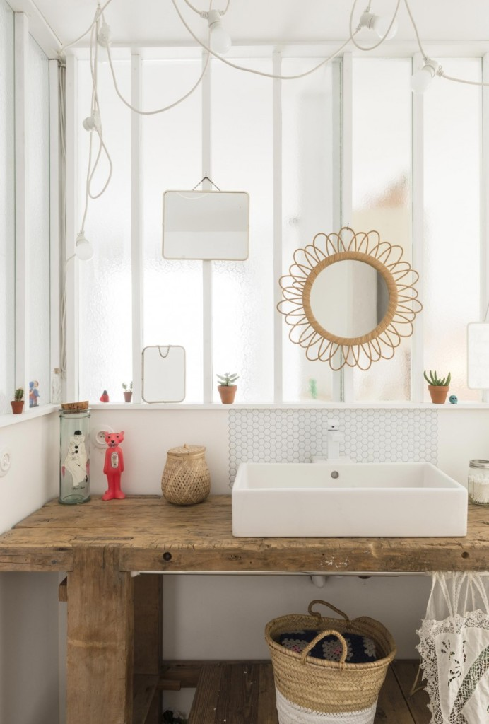 Beton Voor De Badkamer ~ 14 badkamer naturel spiegel  VINTAGELOVER CZ